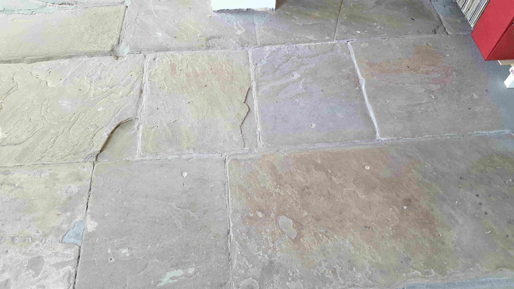 Old Yorkshire Flagstones Revitalised In Haworth Village Tile Cleaners Tile Cleaning