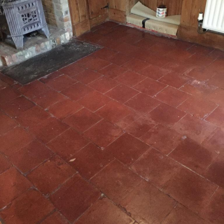 100 Year Old Quarry Tiles Revitalised In Market Weighton