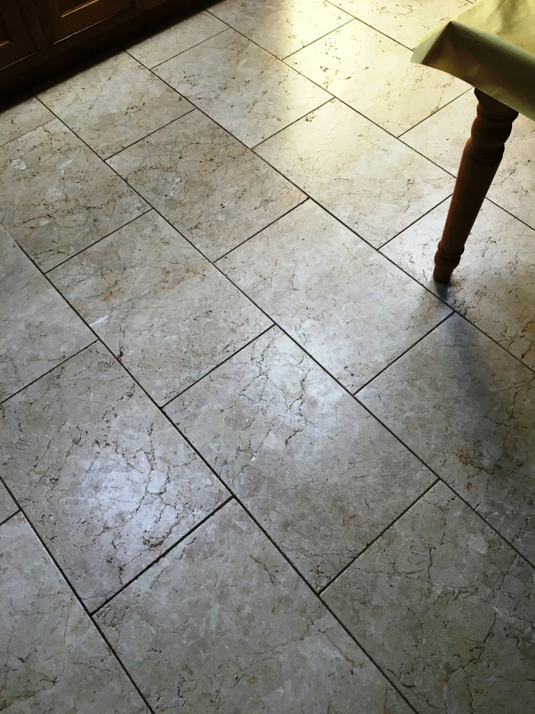 Cleaning And Sealing Tumbled Marble Tiles In Twickenham