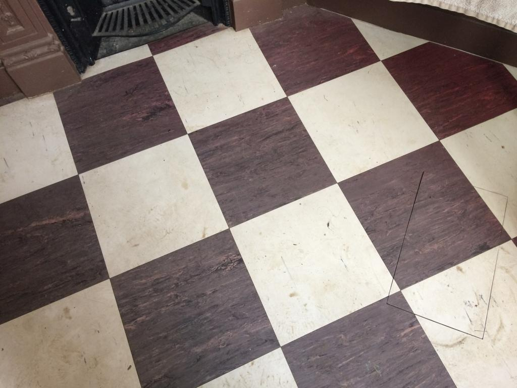 Deep Cleaning Kitchen And Bathroom Vinyl Floors In