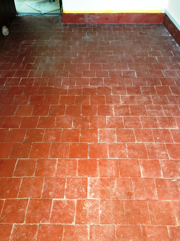 Removing Carpet Glue From Quarry Tiles In Banbury Tile