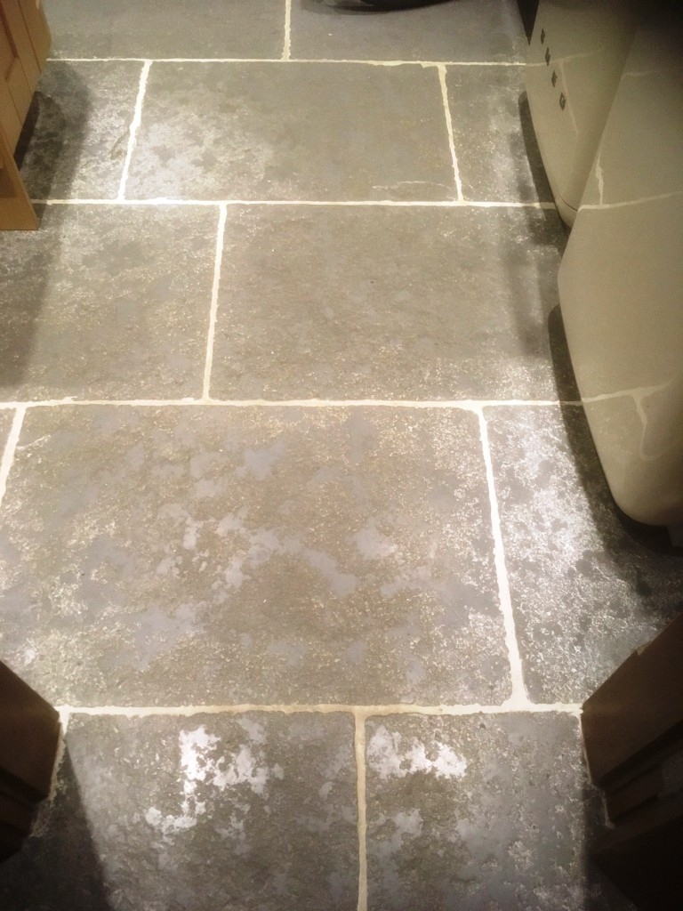 Stone Effect Pre Cast Concrete Kitchen Flooring Deep