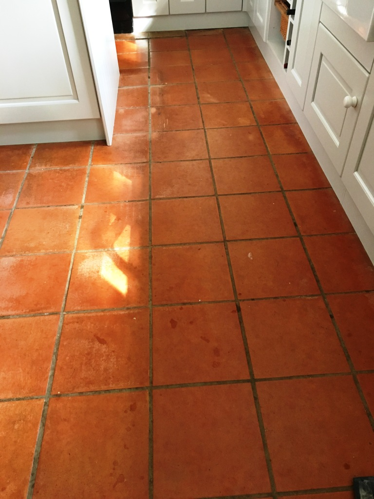 Terracotta Kitchen Tiles Given New Lease Of Life In
