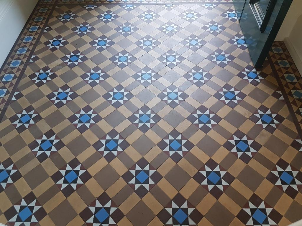 Original Victorian Tiles Refreshed With Deep Clean And