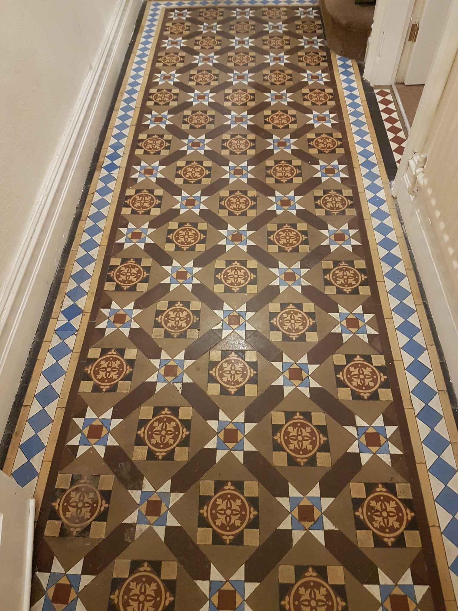 Maintaining A Victorian Tiled Entrance In Ilkley Tile