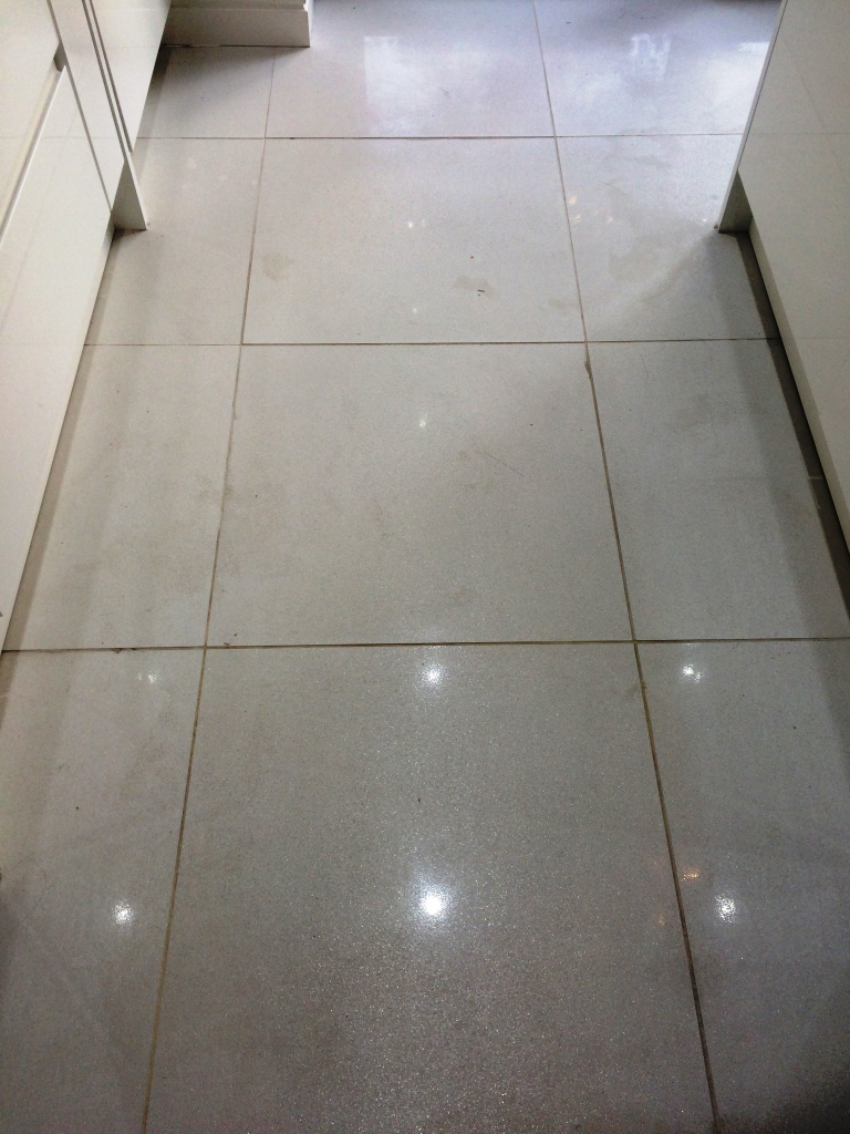Very Dirty Porcelain Kitchen Tiles Refreshed In Heywood