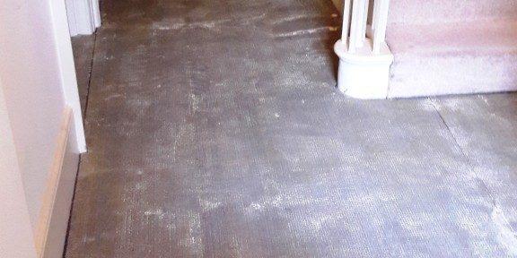 Restoring A Carpet Covered Sandstone Hallway In Carbrooke
