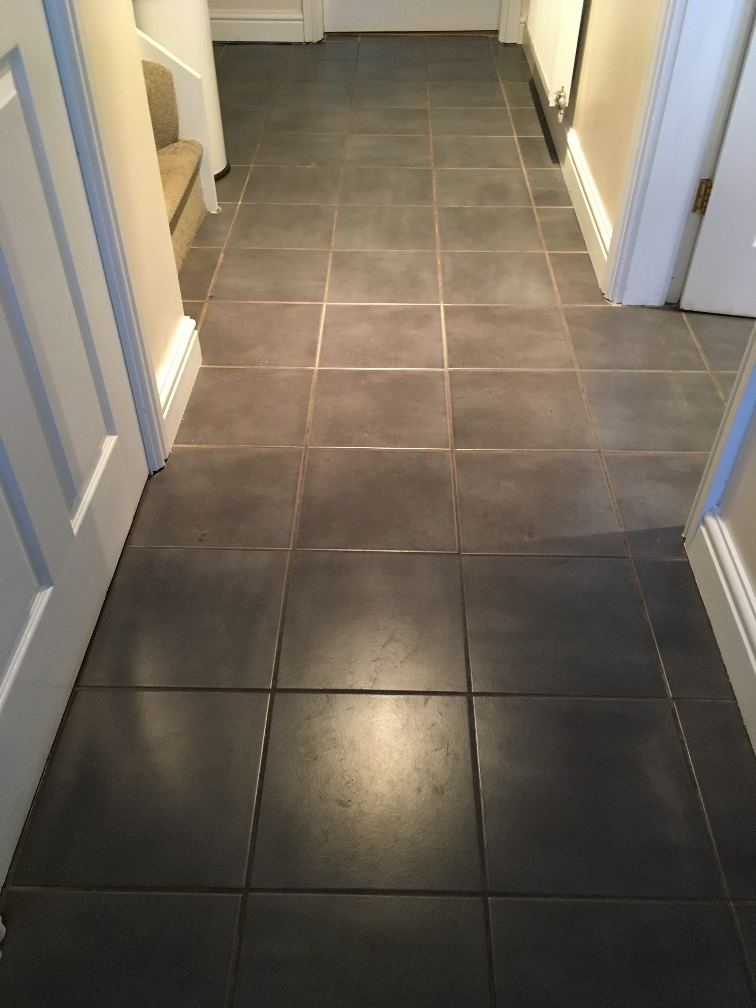 Ceramic Tile Grout Cleaned and Recoloured in Childs Ercall | Tile ...