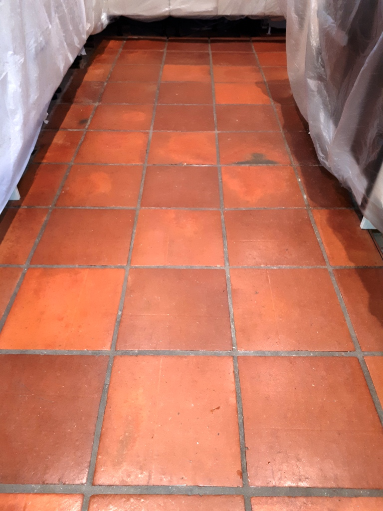 Mexican Terracotta Kitchen Rejuvenated In Redditch Tile