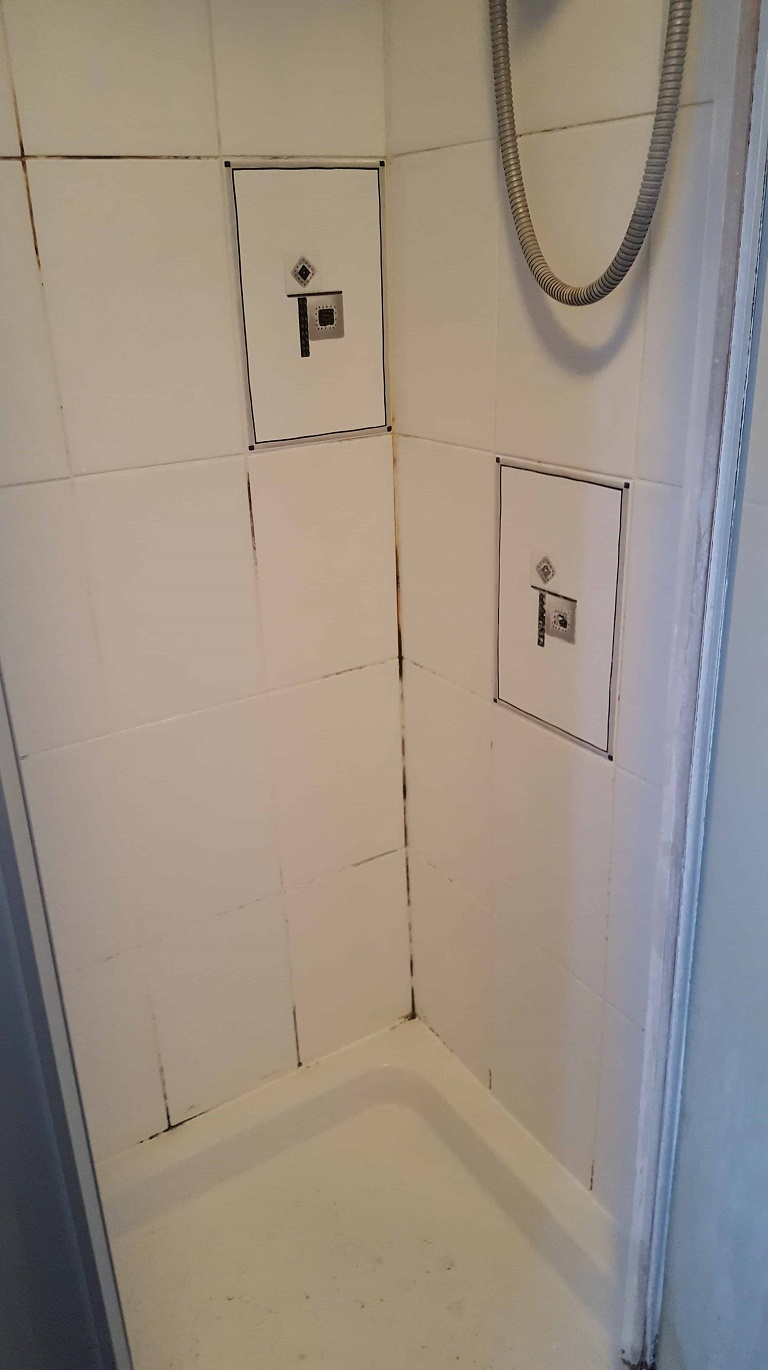 Multiple Ceramic Tiled Shower Cubicles Refreshed In Sale