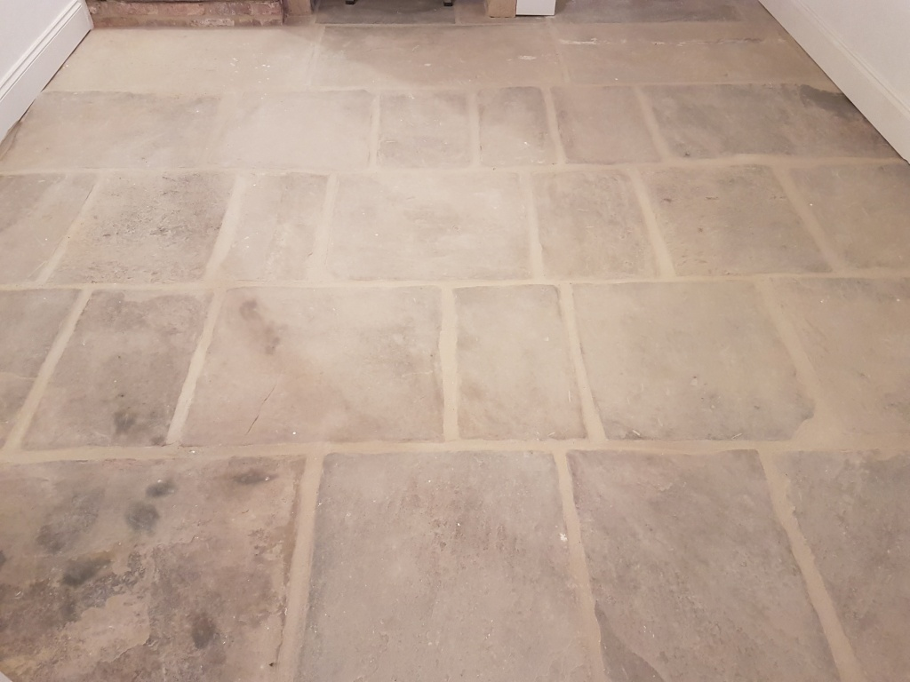 Cleaning And Restoring A Traditional Yorkshire Stone Floor