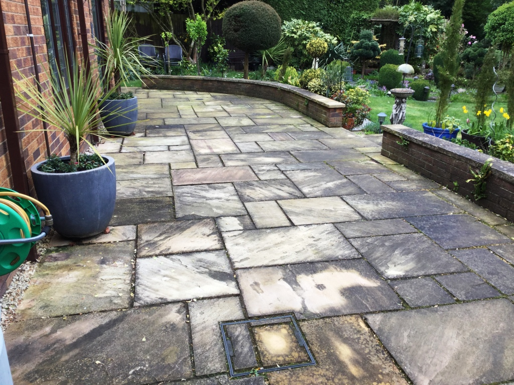 Indian Sandstone Patio Northampton Tile Cleaners Tile