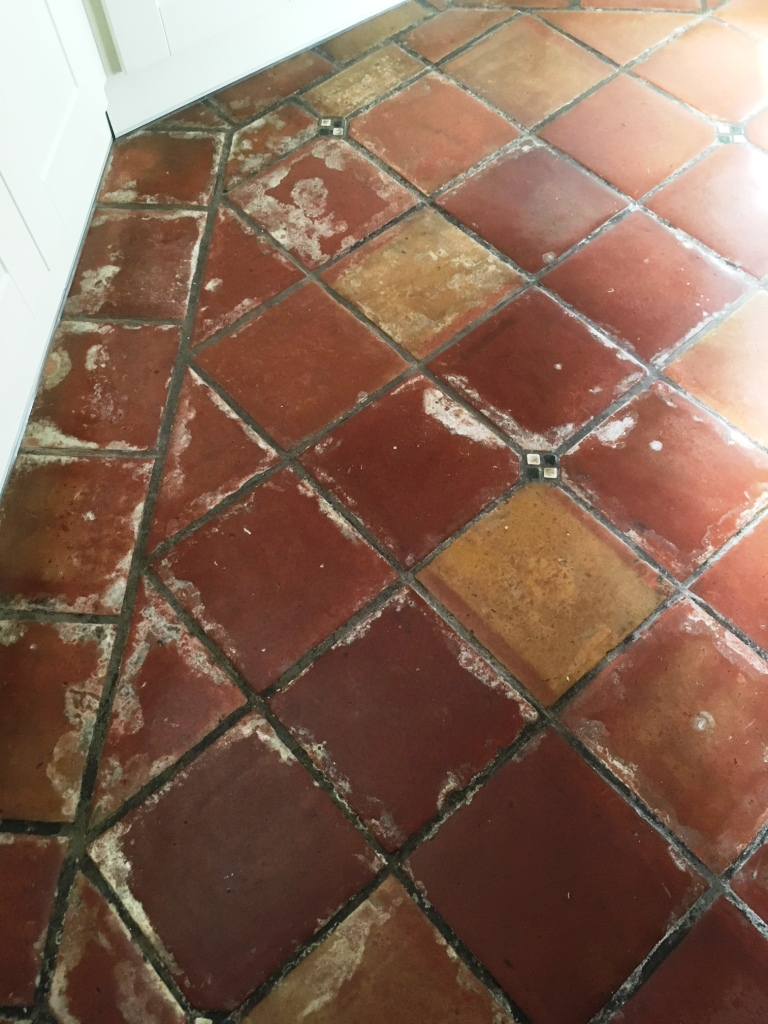 Stripping Wax From Mexican Terracotta Kitchen Tiles In
