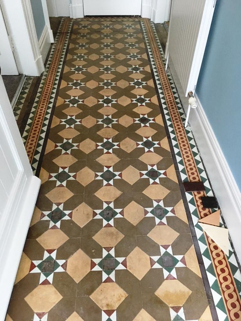Victorian Floor Tile Restoration Lancaster Tile Cleaners Tile Cleaning