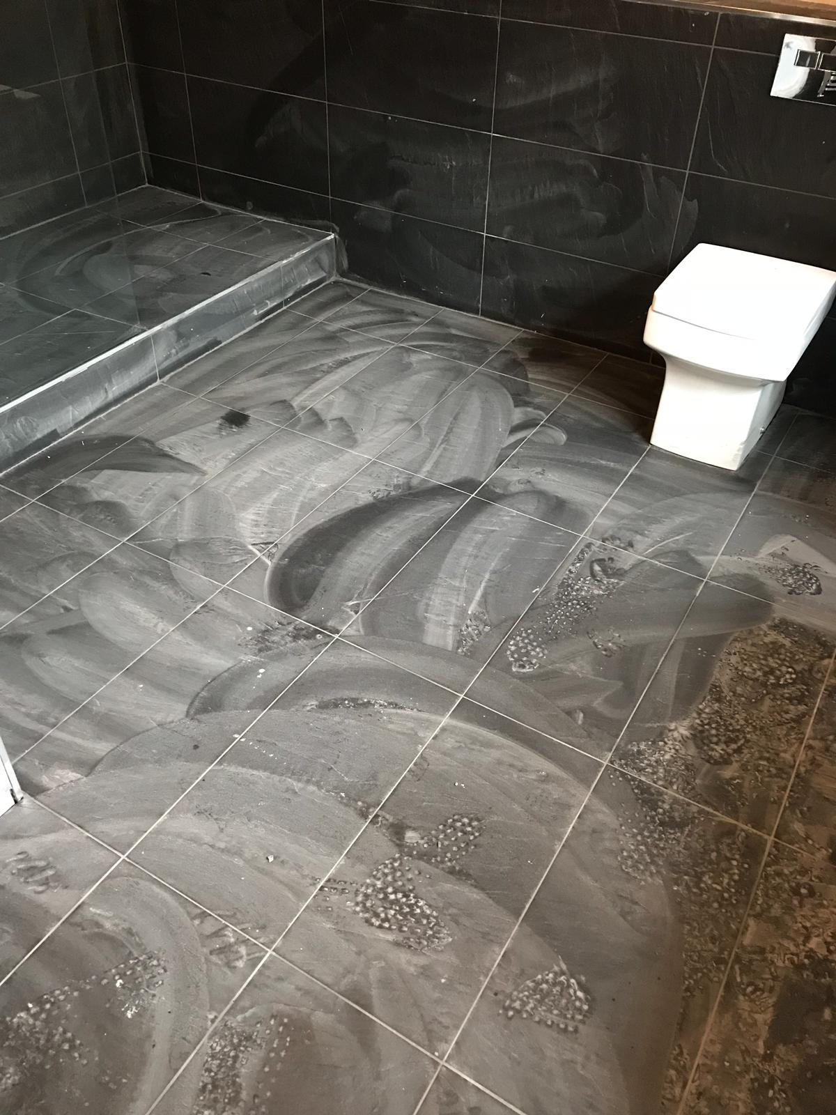 Amazing Removing Grout Haze From Black Porcelain Bathroom Tiles Home Interior And Landscaping Palasignezvosmurscom