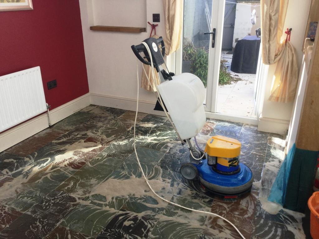 Slate Tile Cleaning & Sealing